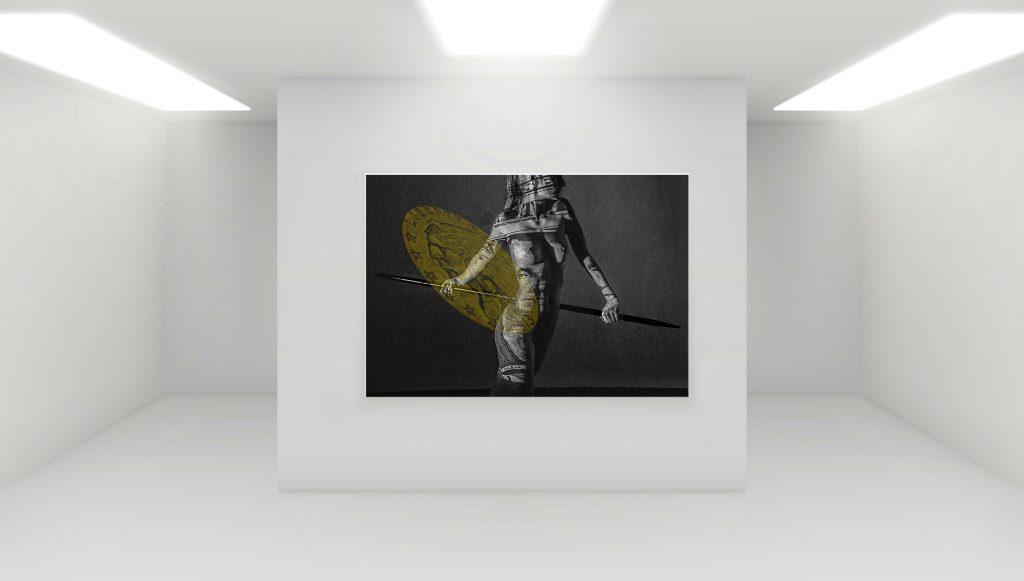 MoneyTu (Golddollar) B 160 cm x H 110