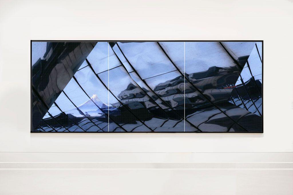 Mirror 3 x B 100 cm x H 120 cm