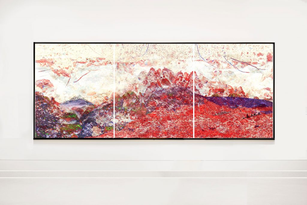 Hokkaido-Triptychon 3 x B 100 cm x H 120 cm